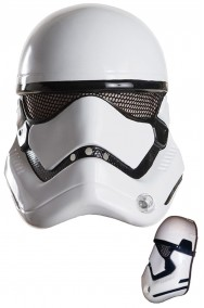 Maschera nuovo Stormtrooper Star Wars ep.7 solo frontale