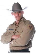 Camicia da sceriffo americano adulto Rick Grimes