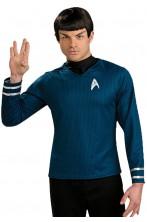 Star Trek maglia Primo ufficiale Spock con stampa a nido d'ape
