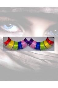 Ciglia finte Neon Arcobaleno pride