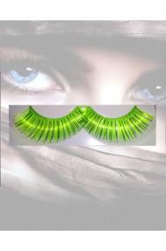 Ciglia finte Neon Verdi