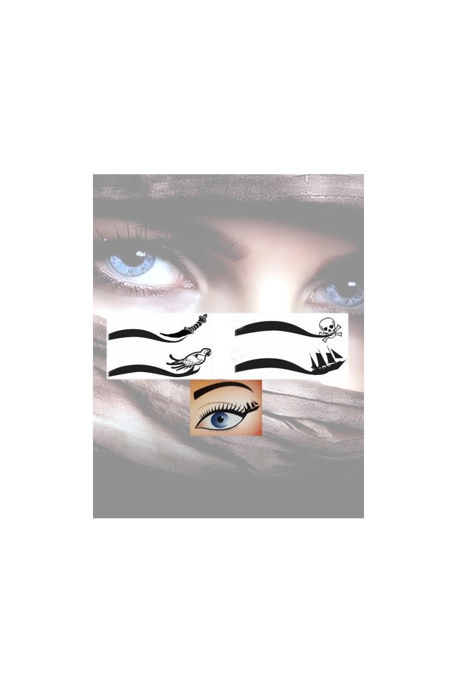 Eyeliner kit pirata