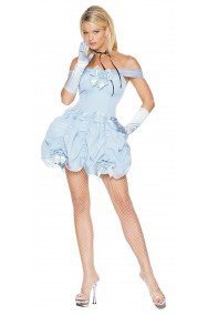 Costume donna Cenerentola o Alice taglia M