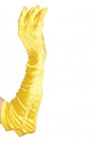 Guanti gialli corti