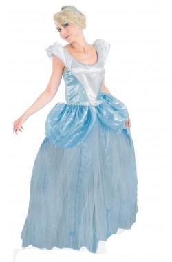 Abito Cenerella Principessa Azzurra