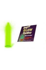 Preservativo profilattico SCHERZO fluorescente per addio al celibato