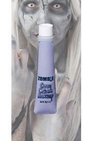 trucco teatrale tubetto aqua color 28ml grigio zombie, pietra, statue