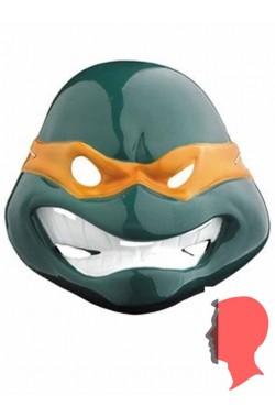 Maschera Michelangelo Ninja Turtles in plastica