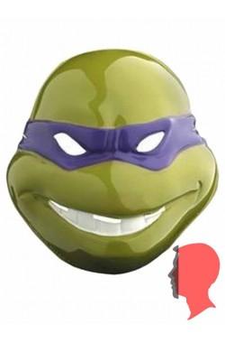 Maschera Donatello Ninja Turtles in plastica