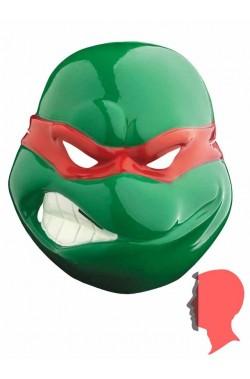 Maschera Raffaello Ninja Turtles in plastica