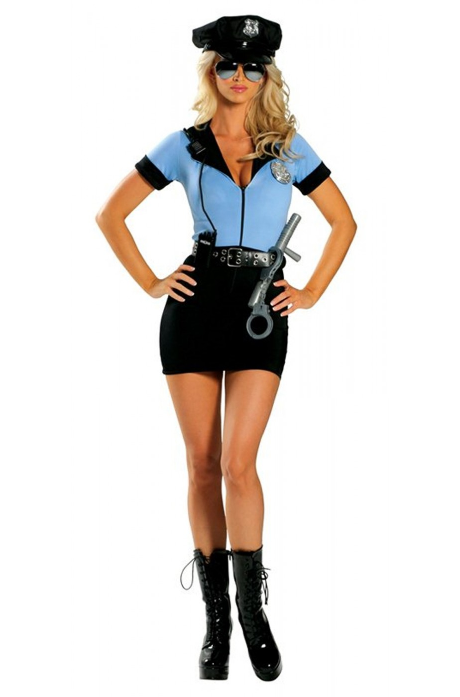 Costume donna Sexy Poliziotta. Superaccessoriato!!!