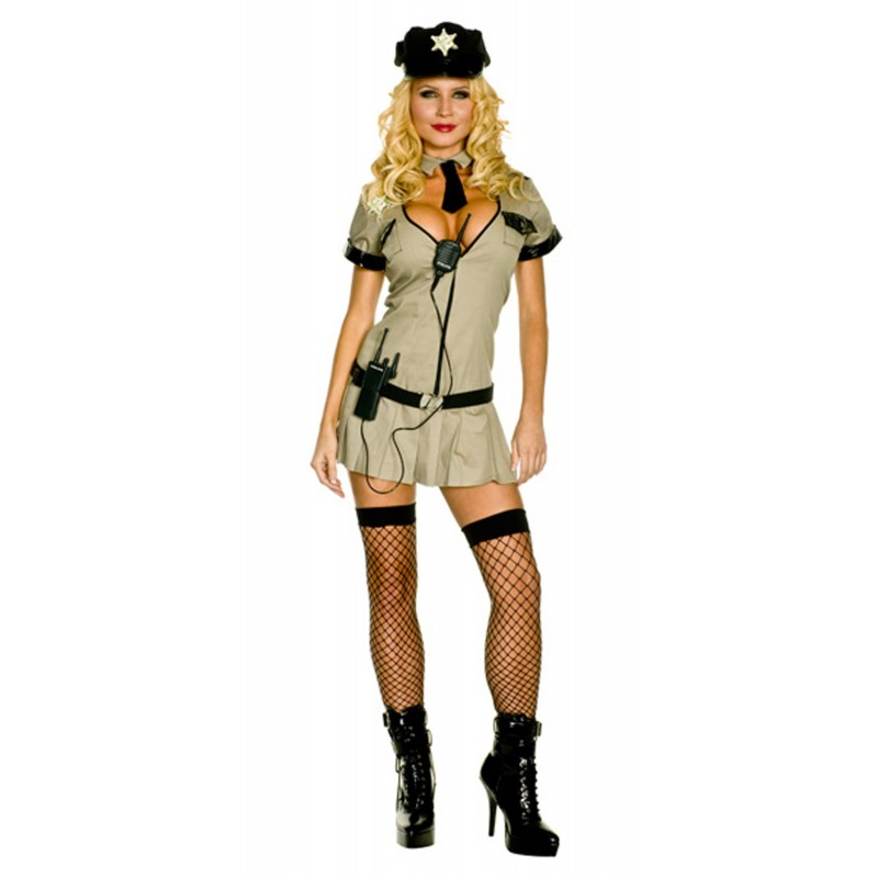 Costume donna Sexy Poliziotta