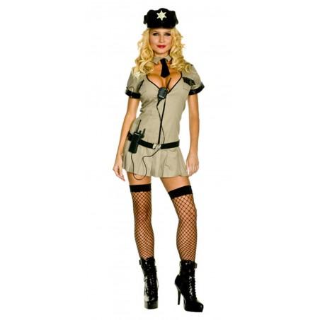 Costume donna Poliziotta CHIP'S