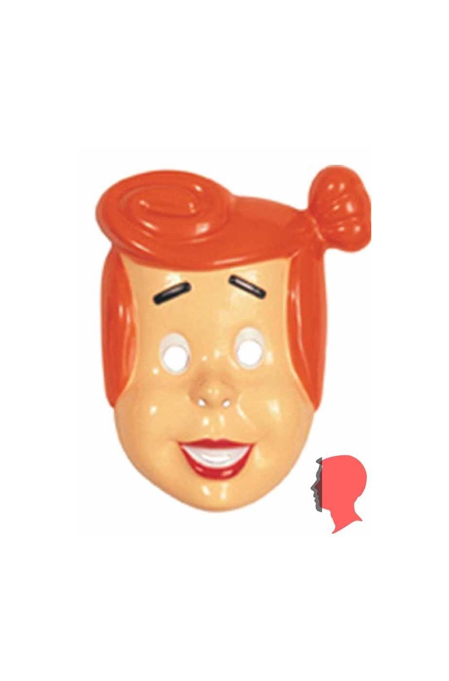 Maschera film Wilma Flintstones Pvc