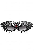 Occhiali neri a pipistrello Batman