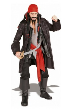 Costume uomo Pirata dei Caraibi Capitan Cutthroat