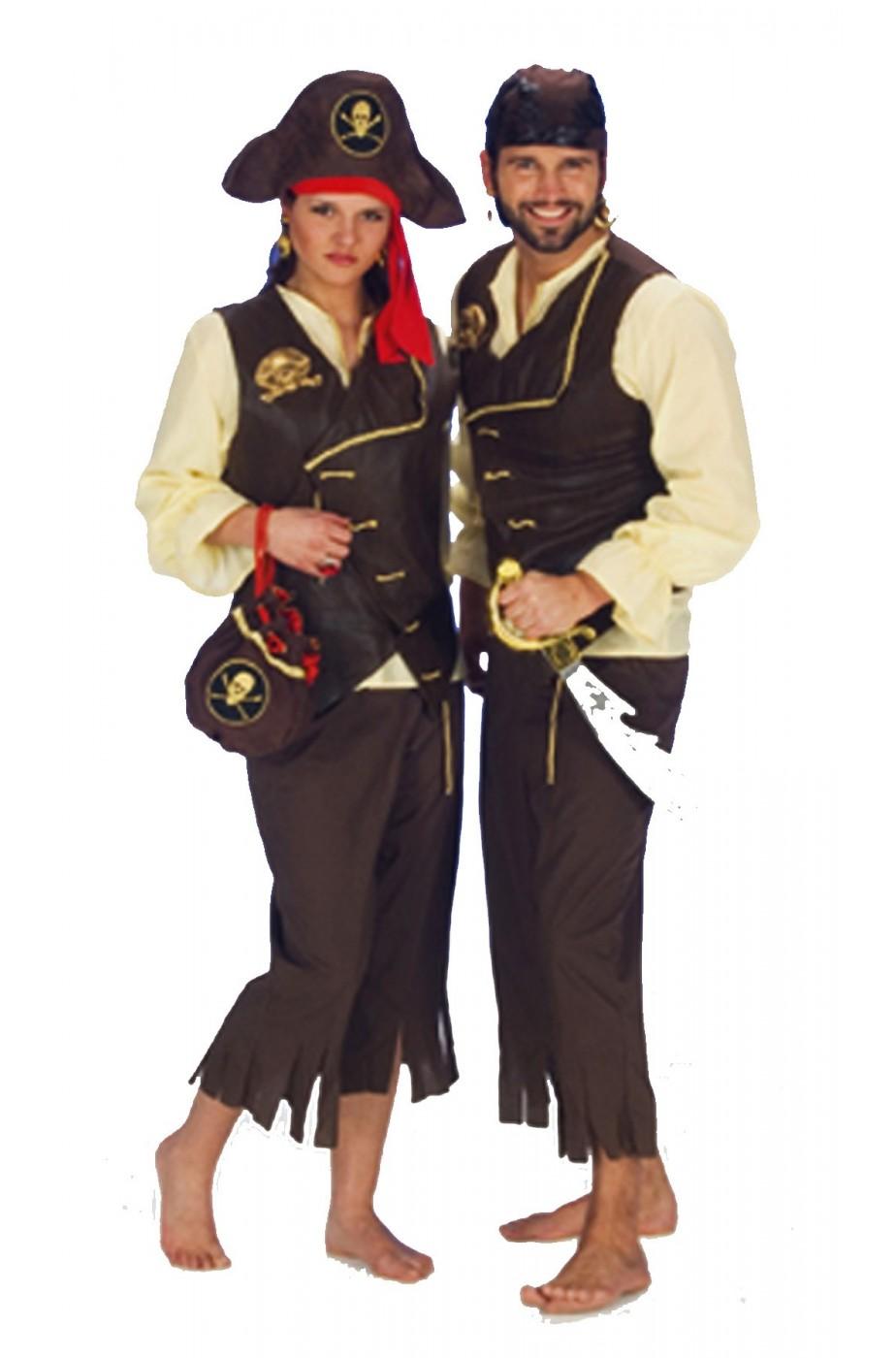 Costume unisex pirata