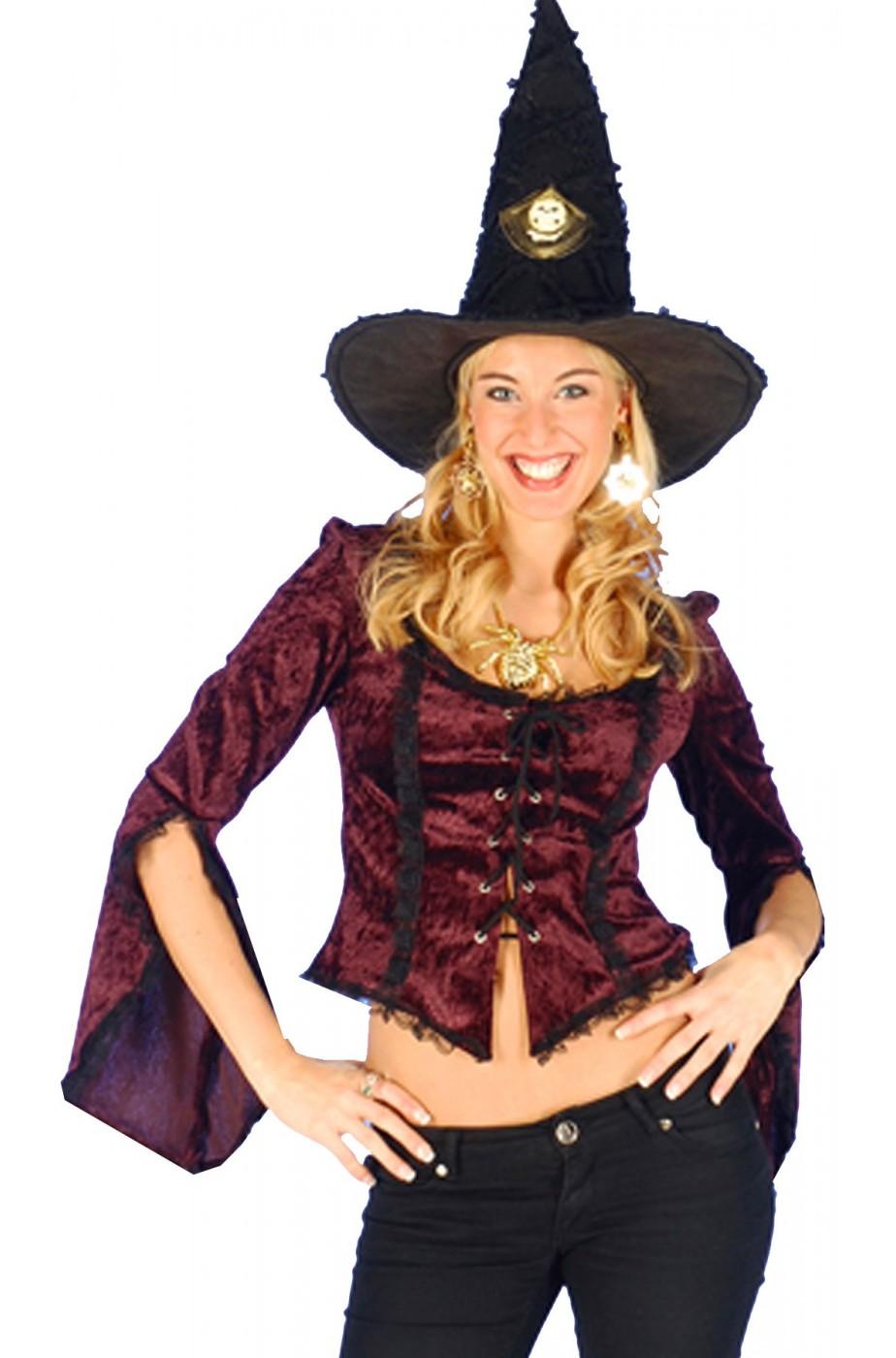 Camicia donna pirata/800/burlesque/strega, moschettiere