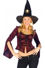 Camicia donna pirata 800 burlesque strega o moschettiera