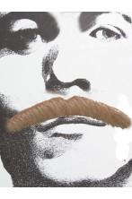 Trucco: Baffi finti a spazzola lunghi Anni 70 biondi Bart