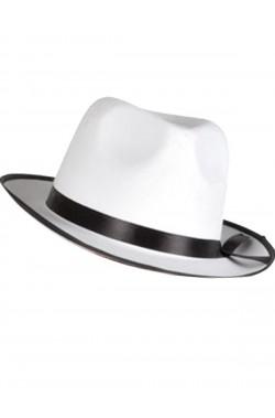Cappello Gangster Bianco Al Capone