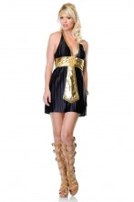 Costume donna sexy egiziana o romana Cleopatra