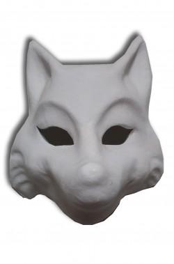 Maschera Veneziana originale in cartapesta Lupo