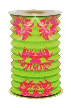 Festone decorativo lampioncino cinese in carta 28cm verde