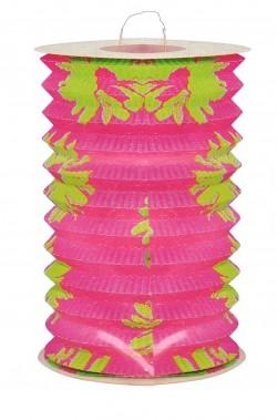 Festone decorativo lampioncino cinese in carta 28cm rosa