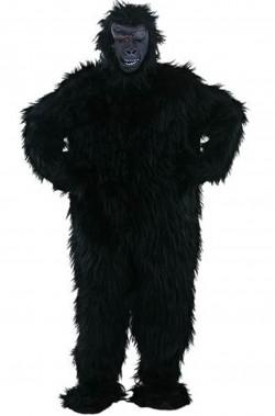 Costume adulto unisex gorilla nero
