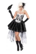 Costume donna sexy scheletro