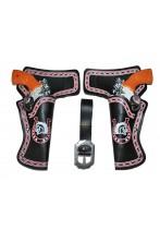 Cinturone cowboy bambino con 2 pistole