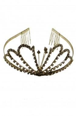 Corona argento in metallo