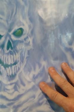 Allestimento Halloween Mostri fantasma ectoplasma