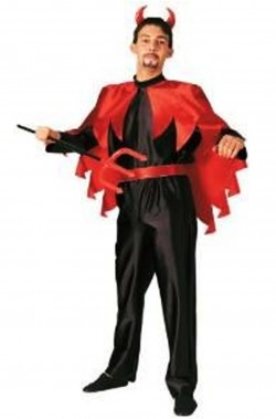 Costume Halloween da Diavolo adulto economico