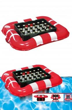 Canottino gonfiabile portabibite per piscina e mare