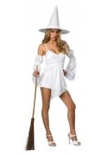 Costume donna strega angelo romana o burlesque