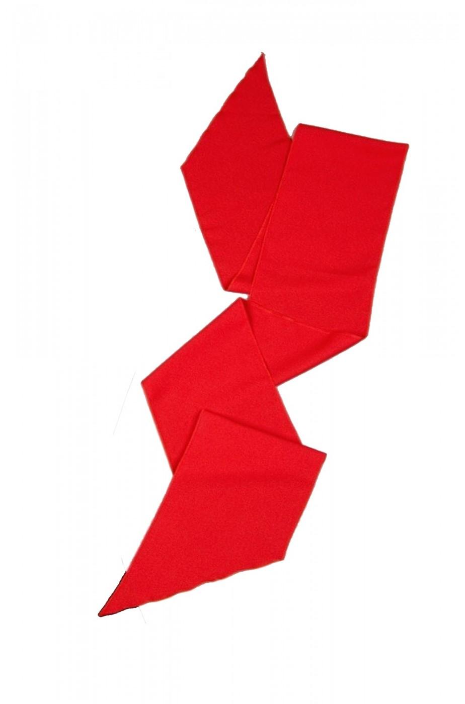 Fascia rossa per pirati o principi lunga 2 m