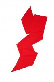 Fascia bandoliera sciarpa rossa per pirati o principi lunga 2 m