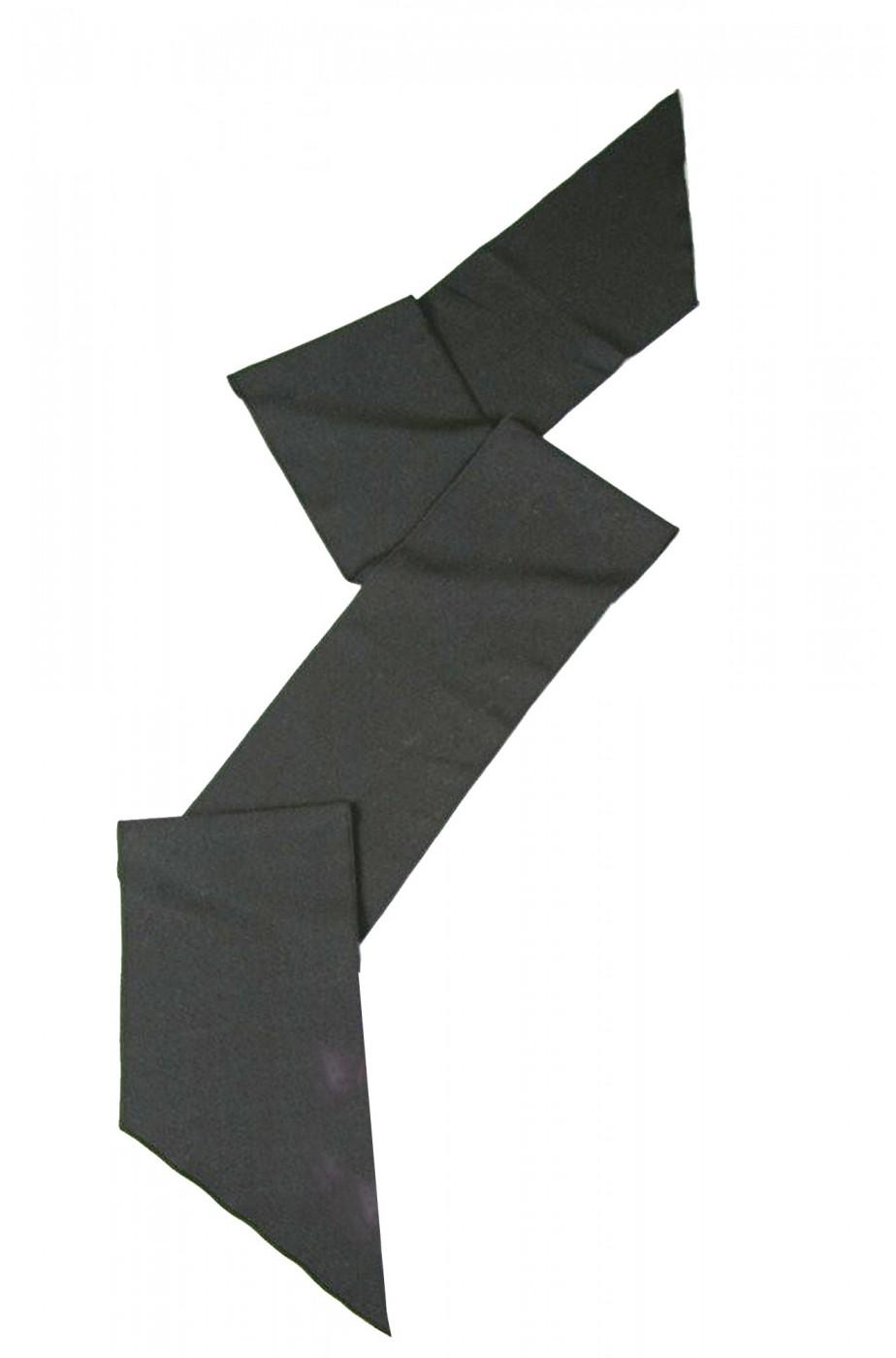 Fascia nera per pirati o principi lunga 2 m