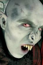 Naso finto vampiro Nosferatu in lattice prostetica professionale