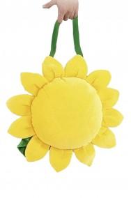 borsa o borsetta fiore con girasole o anni 70