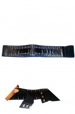 Cintura elasticizzata punk anni 80 con borchie
