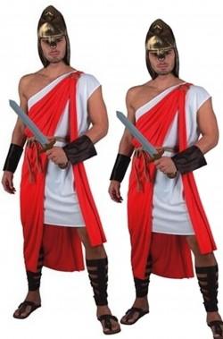 Coppia di guerrieri soldati antichi romani