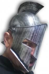 Elmo greco spartano romano in plastica rigida