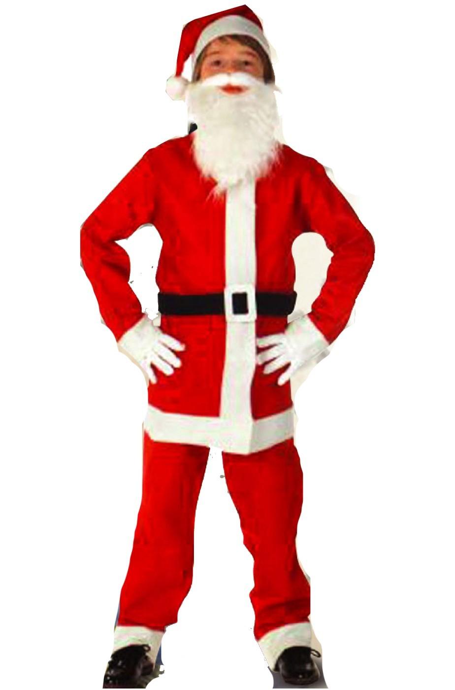 Costume Babbo Natale.Vestito Babbo Natale Bambino Carnivalhalloween Com