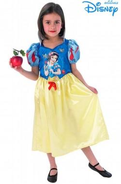 Costume carnevale bambina Biancaneve Disney