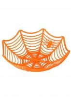 Cestino portadolcetti o portapane da tavola arancione