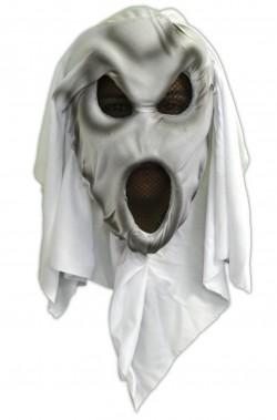 Maschera Halloween da spettro che urla