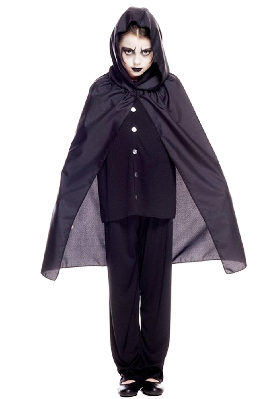 Mantello nero SOLO mantello 70 cm